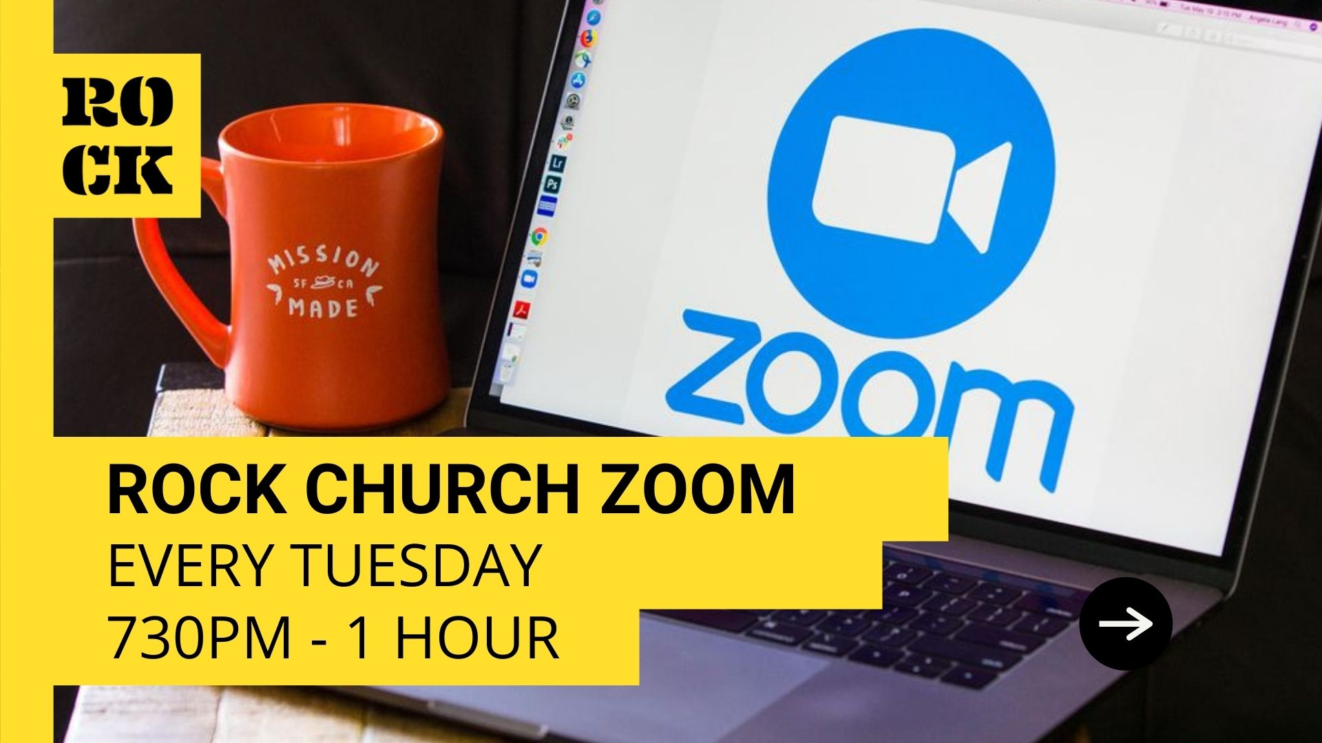 Weekly Church Zoom Meeting - 7:30pm Every Tuesday