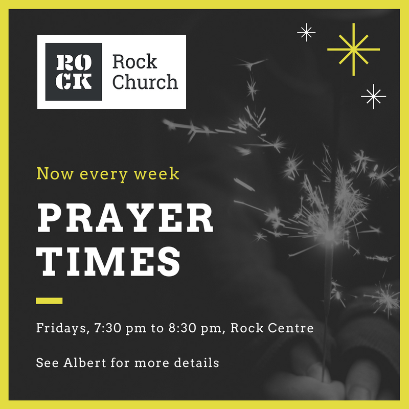 prayer times ongoing rock church